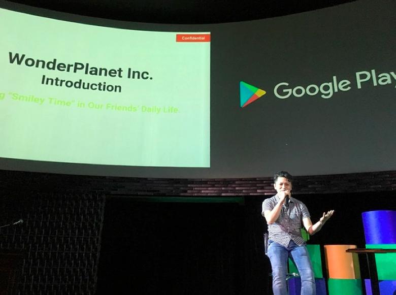 Google Play CONNECT2016で登壇した際の様子