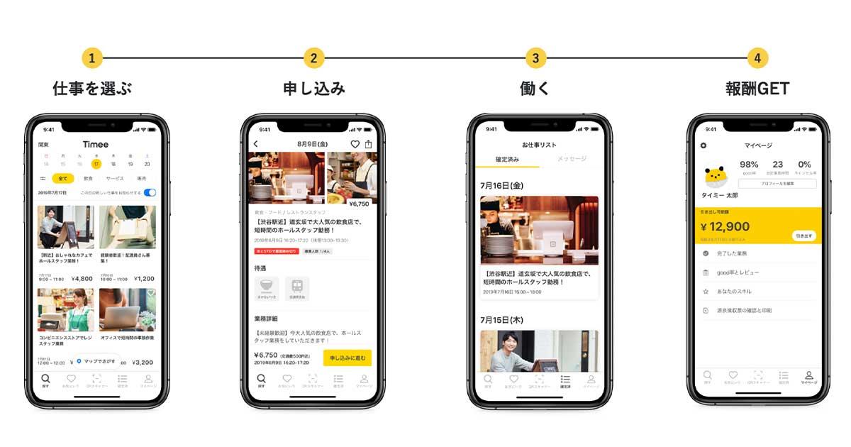 スキマ バイト アプリ